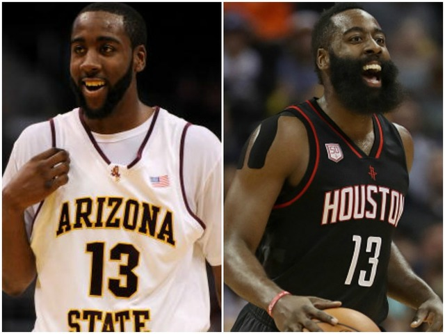 Ex-ASU star Harden has historic game for Rockets