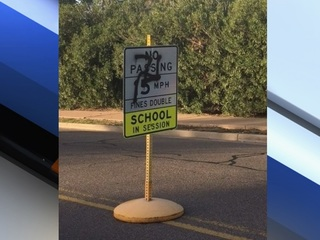 Swastikas painted near Paradise Valley school