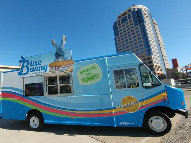 Blue Bunny Launching Ice Cream Sandwich Food Truck In Phoenix