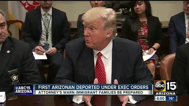 Networks Go Nuts Over Trump's 'First Victim' of Deportation