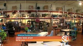 American Furniture Warehouse Offers Low Pressure Shopping