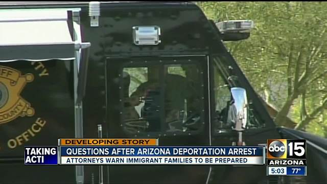 Phoenix mayor calls deportation of undocumented woman a 'travesty'