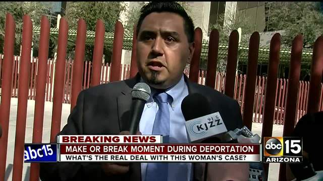 Deported Mom Talks to Reporters in Mexico