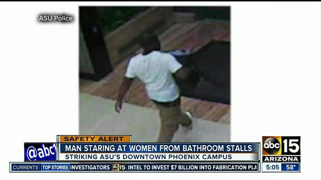 Bathroom Stall Story Youtube asu pd: woman finds man staring at her in bathroom stall on