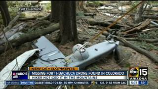 Missing AZ drone found 600 miles away in CO
