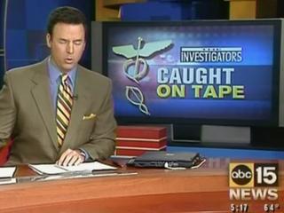 Scherf also featured in 2005 ABC15 investigation