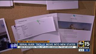 AZ serial suer tied to new out-of-state lawsuits