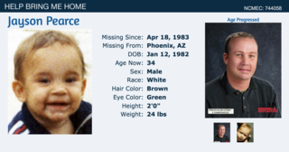 10 oldest missing children cases in Arizona