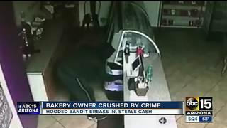 Phoenix bakery recovering after break-in