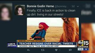 Scottsdale teacher resigns over racial tweets