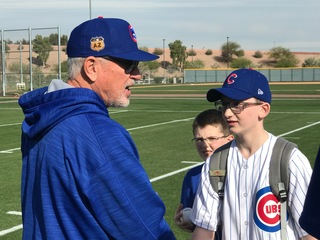 Chicago Cubs, children meet for a day of fun