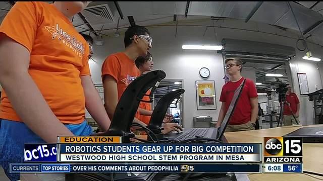 Mesa robotics class helps students find passion