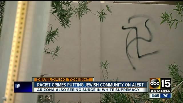 ADL- More white supremacist groups seen in Arizona