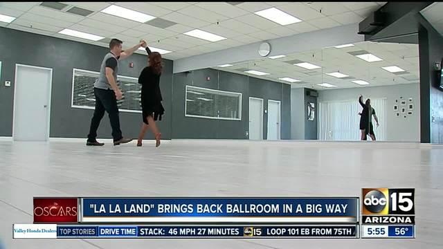 -La La Land- brings ballroom dancing back in a big way
