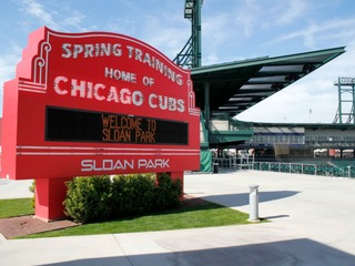 Never been? Take a tour of the Cubs' Sloan Park!