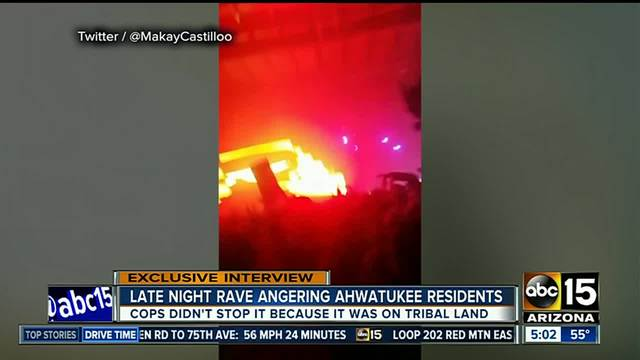 Loud rave frustrates Ahwatukee residents