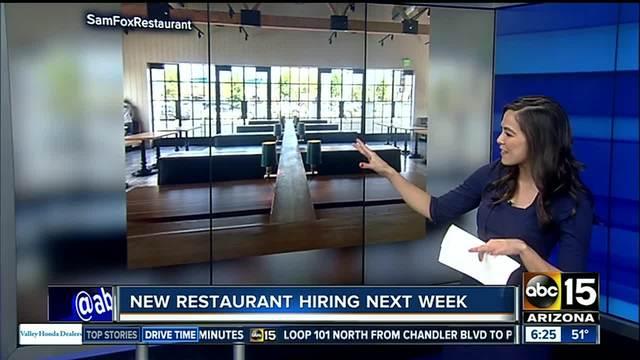 Here-s when Sam Fox-s new restaurant- Doughbird- will open in Phoenix