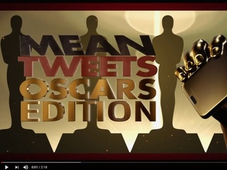 WATCH: Kimmel brings 'Mean Tweets' to the Oscars