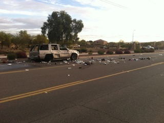 MCSO: Pregnant woman ejected from vehicle