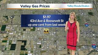 The cheapest price this week is $1.97
