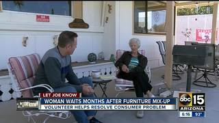 Valley woman waits months after furniture mix-up