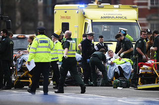 PHOTOS: Shots fired outside UK Parliament