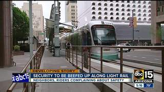 More crime at light rail stops in Valley
