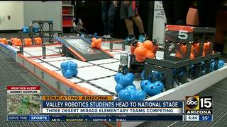 Valley students heading to robotics competition