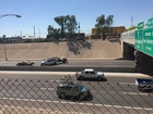 NOW: SB I-17 closed at Grant for crash