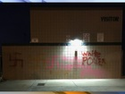Pinnacle HS vandalized with racist graffiti