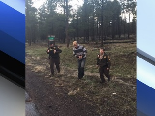 YCSO: Gunman found in ditch near Bearizona