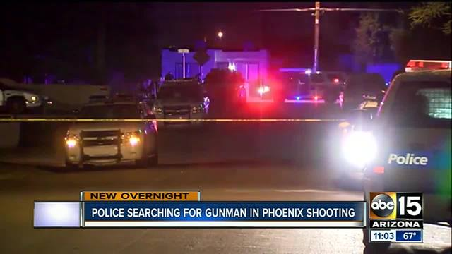 Phoenix PD searching for man suspected of shooting woman-s new boyfriend