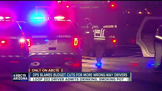 DPS blames budget cuts for more wrong-way drivers