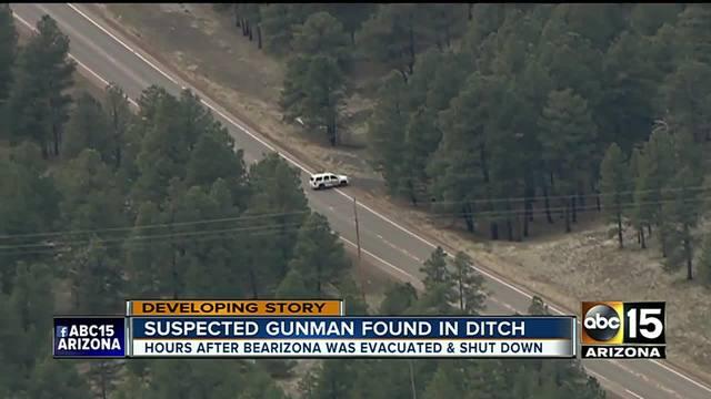 Yavapai County arrests gunman after search near Bearizona