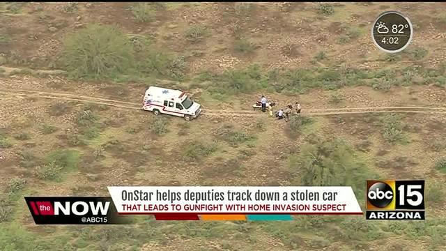 Maricopa County deputies shoot suspect near Morristown