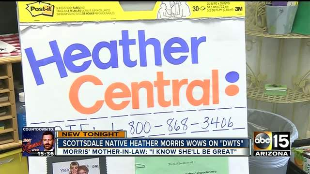Valley native Heather Morris has fan club cheering her Dancing With the…