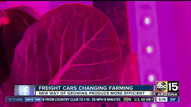Freight cars are changing farming