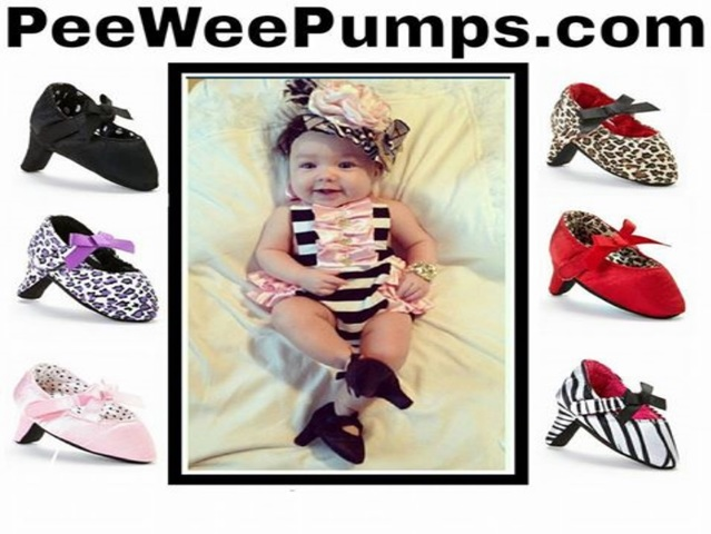 Baby high heels? Pee Wee Pumps catches