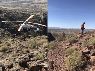 Hikers find deceased person in Lake Havasu City