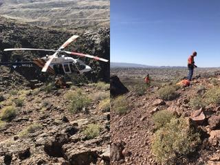 Hikers find deceased person in Lake Havasu City