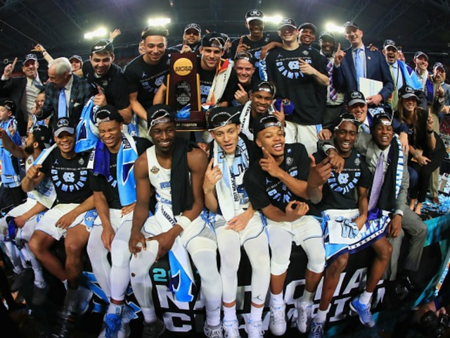 Image result for north carolina tar heels win 2017 ncaa men's basketball championship