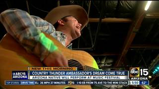 Local artist to attend Country Thunder