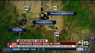 PD: Suspect fires at officers in Prescott Valley