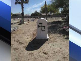 PD: Racist graffiti left at Avondale cemetery