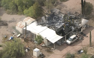 FD: 1 hospitalized after Apache Junction fire