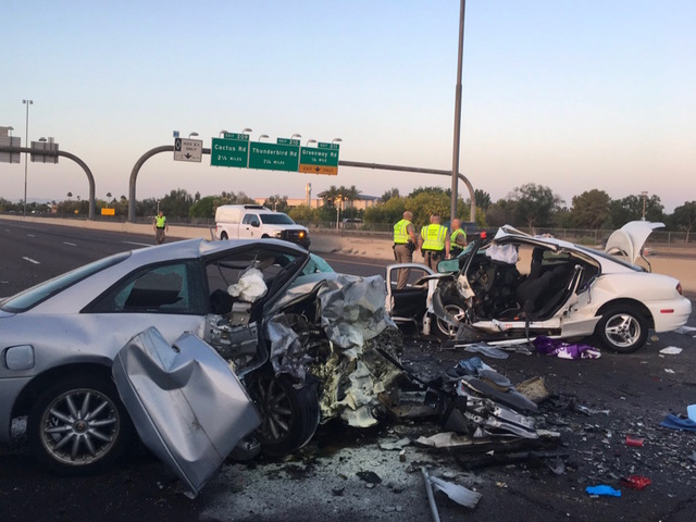3 Dead In Wrong Way Crash On Interstate 17 In Phoenix Abc15 Arizona