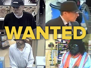 GALLERY: Most wanted Valley bank robbers
