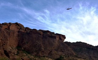 FD: Hiker falls 75+ feet on Camelback Mountain