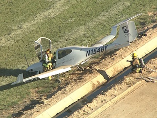 Small plane down in field near Goodyear airport