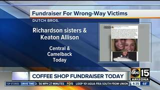 TODAY: Dutch Bros raises $ for wrong-way victims